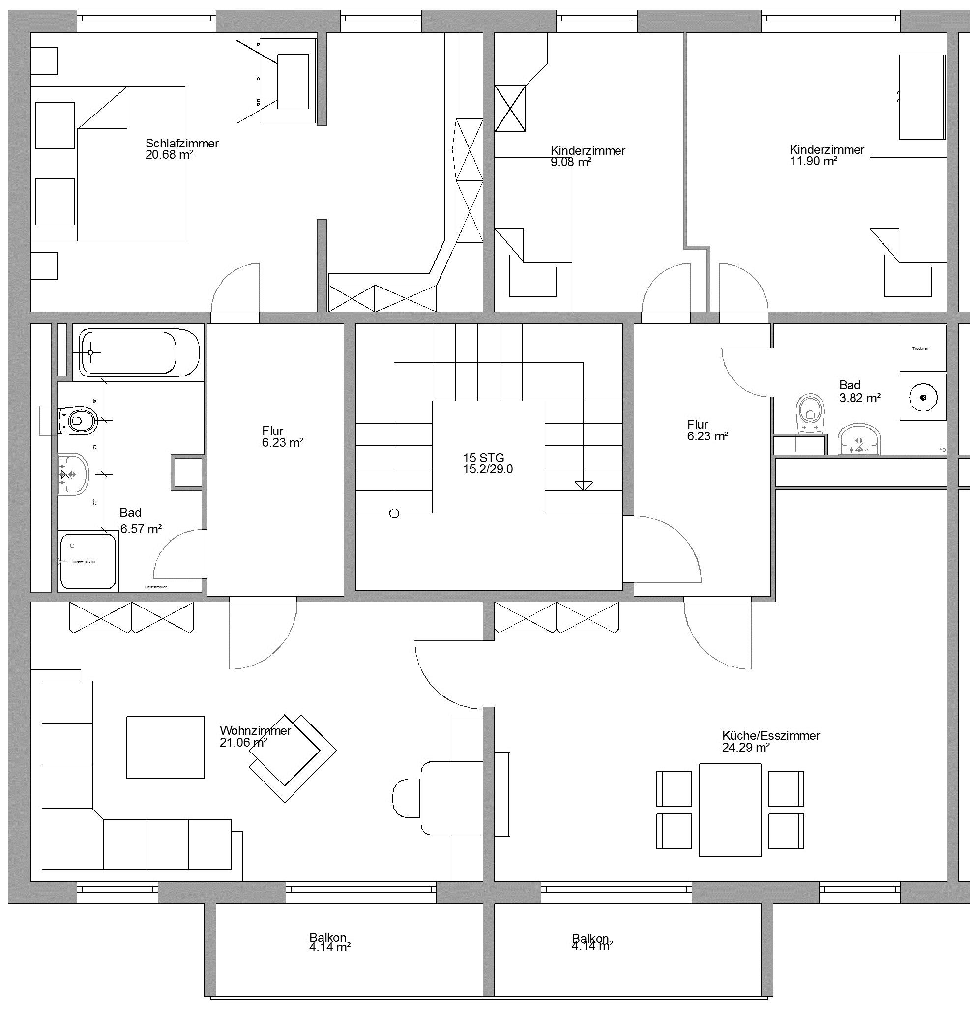 familienfreundliches wohnen in schwarzheide kwg ndert grundrisse in die stra e des friedens. Black Bedroom Furniture Sets. Home Design Ideas