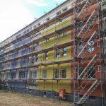 Neue Balkone für die Ruhlander Straße 69 a – e in Schwarzheide