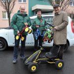 KWG unterstützt die Kreisverkehrswacht mit weiteren Übungsfahrzeugen