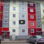 Neue Garagen im Senftenberger Stadtzentrum