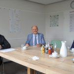 Landtagsabgeordneter Julian Brüning besuchte KWG