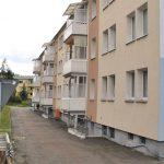 Frische Fassade und neue Balkone in Ortrand