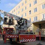 KWG unterstützt Übung der Feuerwehren in Senftenberg